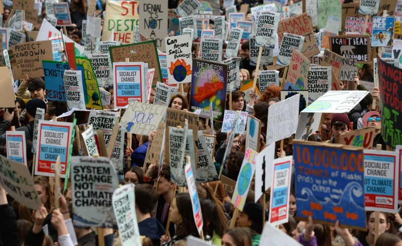 Image result for Climate Change: School Students From 120 Countries Protest, Pass Message To World Leaders