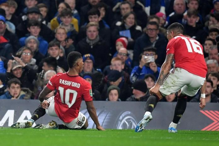 Marcus Rashford teaches sloppy Chelsea a lesson as Man Utd land Cup KO at  Stamford Bridge | London Evening Standard