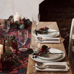 How To Set Your Table For Christmas Top Tips And Fabulous Looks For Decorating Your Table This Festive Season Homes And Property