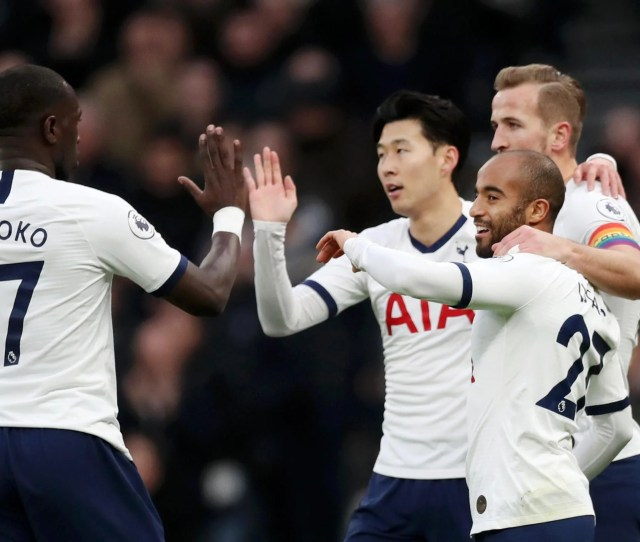 Tottenham   Burnley Result Son And Kane Star As Spurs Close Gap