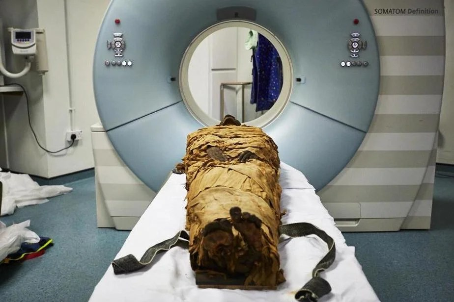 Scientists recreate the voice of the ancient Egyptian priest 3000 years after his death using the CT scan of his mailbox