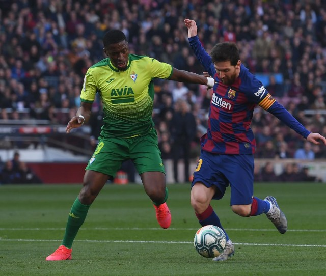 Lionel Messi Produces Sensational Display With Four Goals As