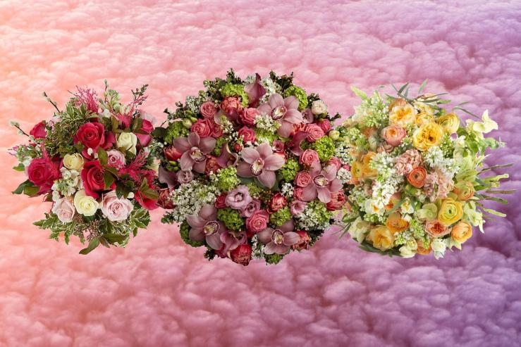 mothers day flowers composite