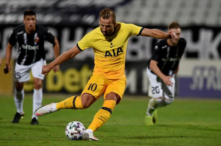 Lokomotiv Plovdiv vs Tottenham (Europa League) Highlights. September 17 2020