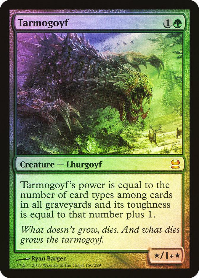 Tarmogoyf Magic Card