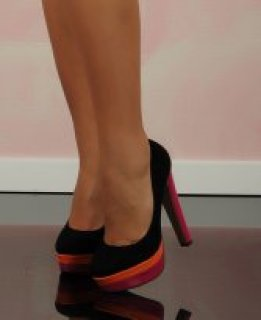 Haine. Pantofi Colour Love Black