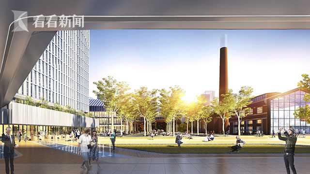 市北國際科創社區九月開建 彭浦機器廠迎來新生_上海圖文_看看新聞