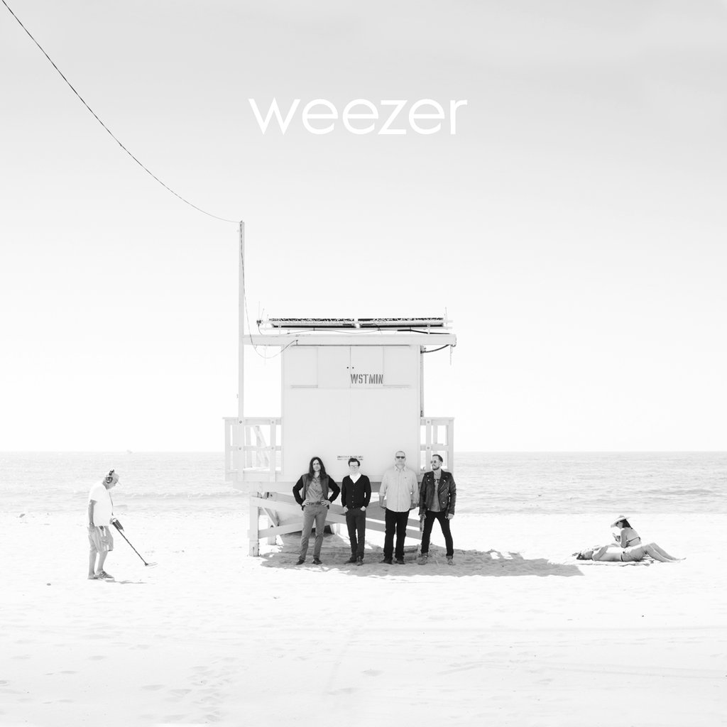 Image result for weezer white album