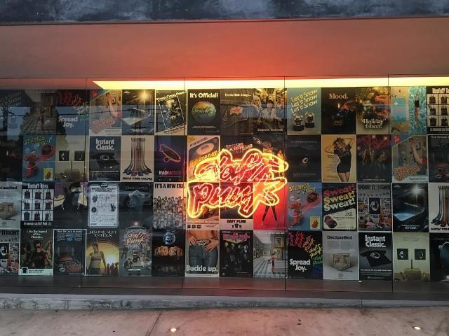 Daft punk popup shop
