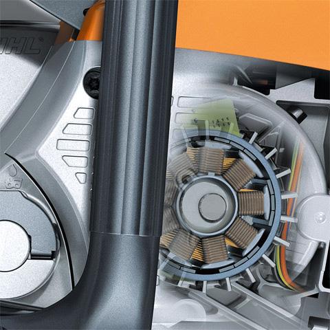 Energy-efficient electric motor