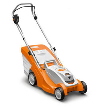 RMA 339 Lightweight Battery Powered Lawn Mower For Small Gardens