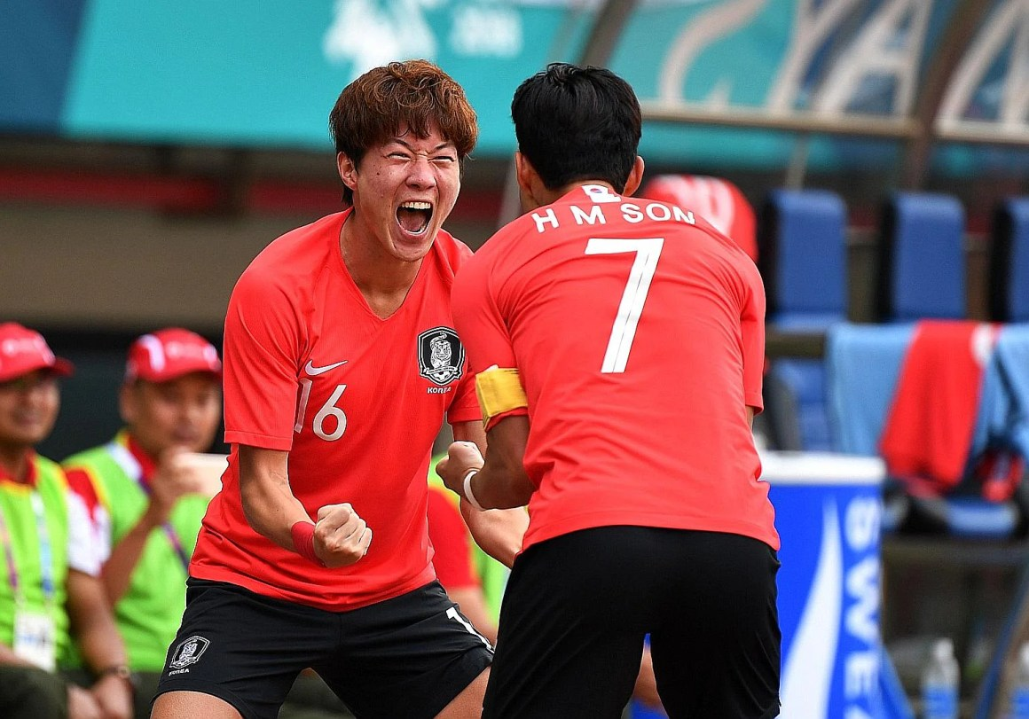 Hwang shines for Korea with treble, Football News & Top Stories - The Straits Times