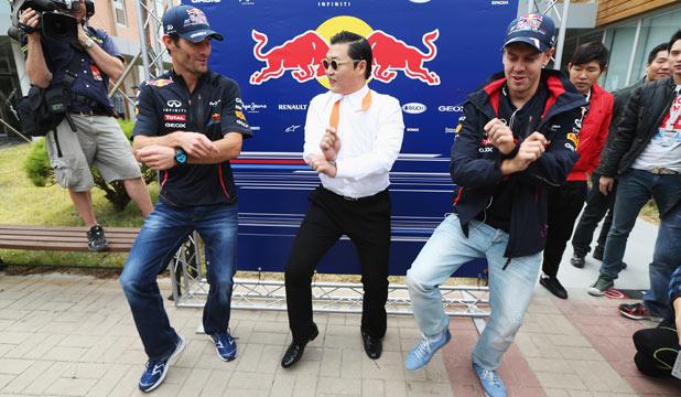 Vettel Gangnam Style