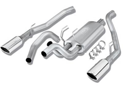 borla s type cat back exhaust systems