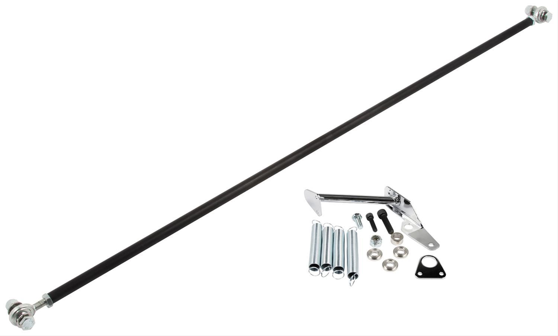 Allstar Carb Linkage Aluminum Black Anodized Kit All