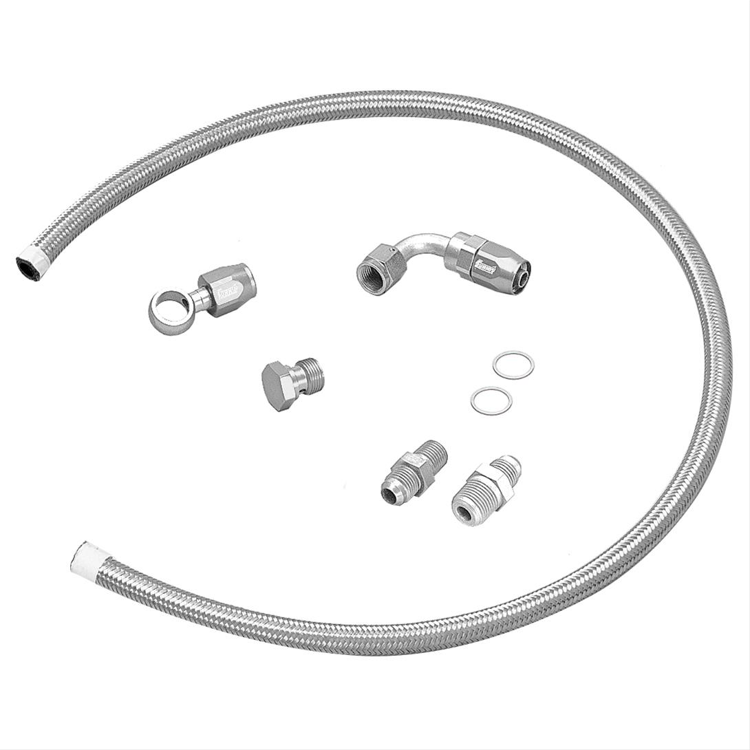 Summit Racing Aftermarket Pump To Carburetor Fuel Line