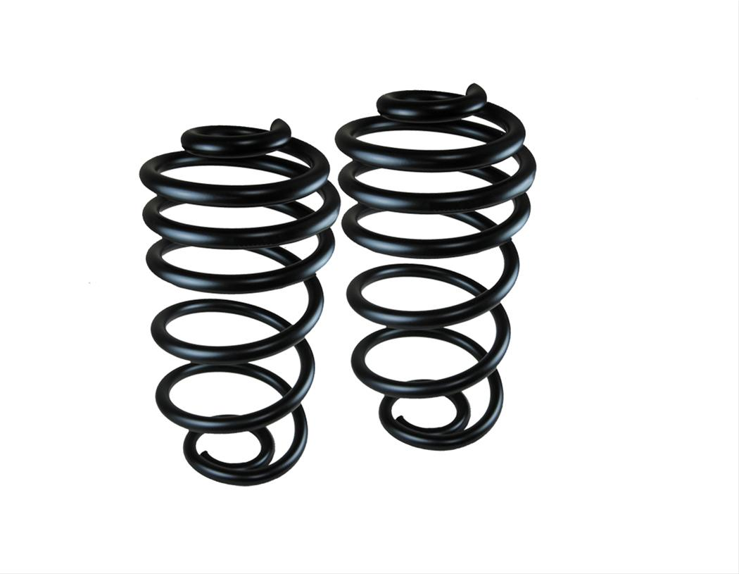 Western Chassis Lowering Springs Rear Coil Black