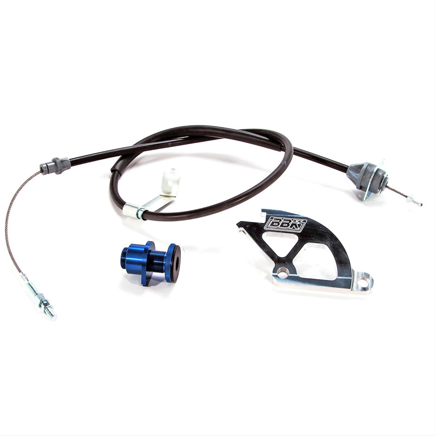 Bbk Clutch Cable W Aluminum Quadrant Firewall Adjustable