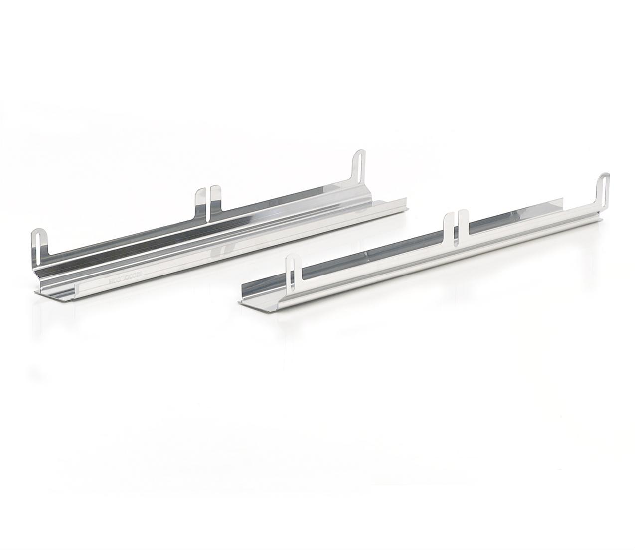 Be Cool Fan Mounting Brackets Stainless Steel Polished For