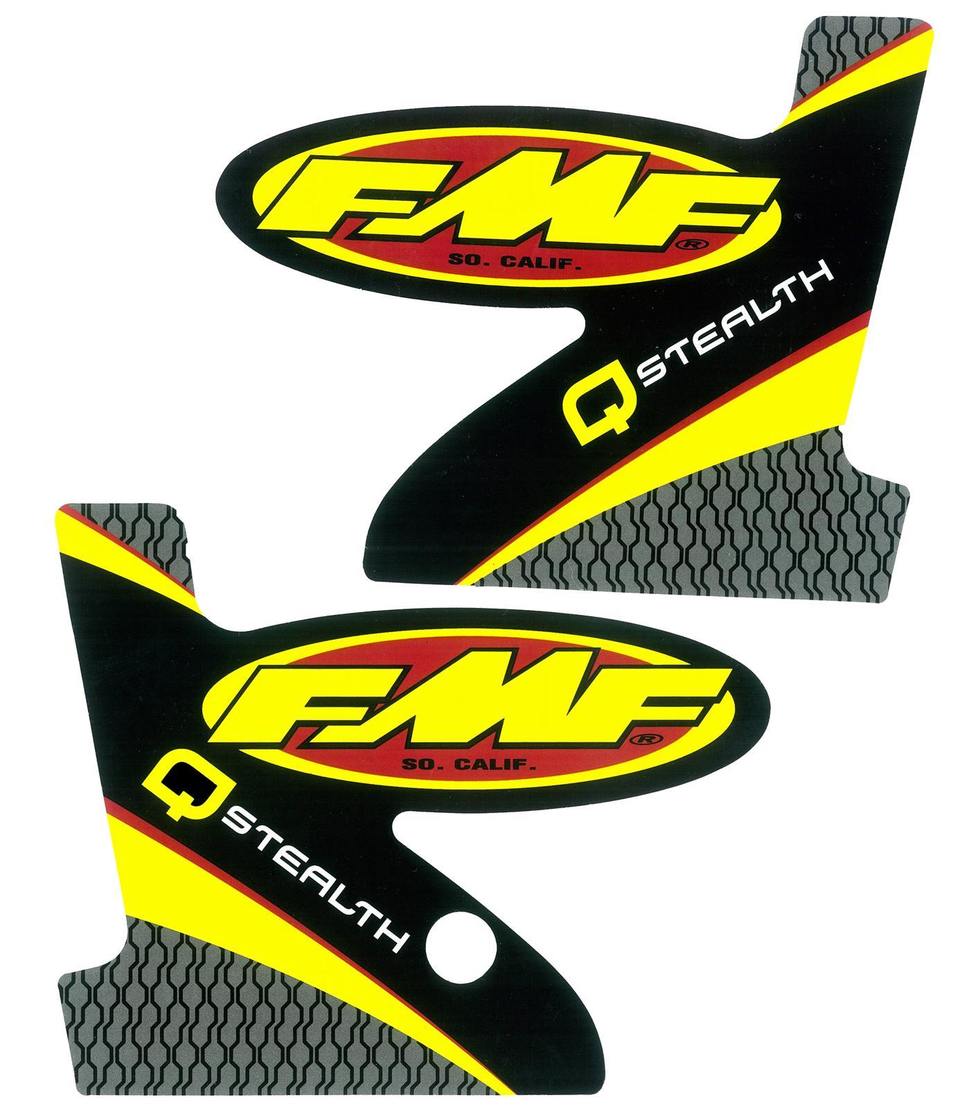 fmf exhaust 012692 fmf racing replacement exhaust decals summit racing