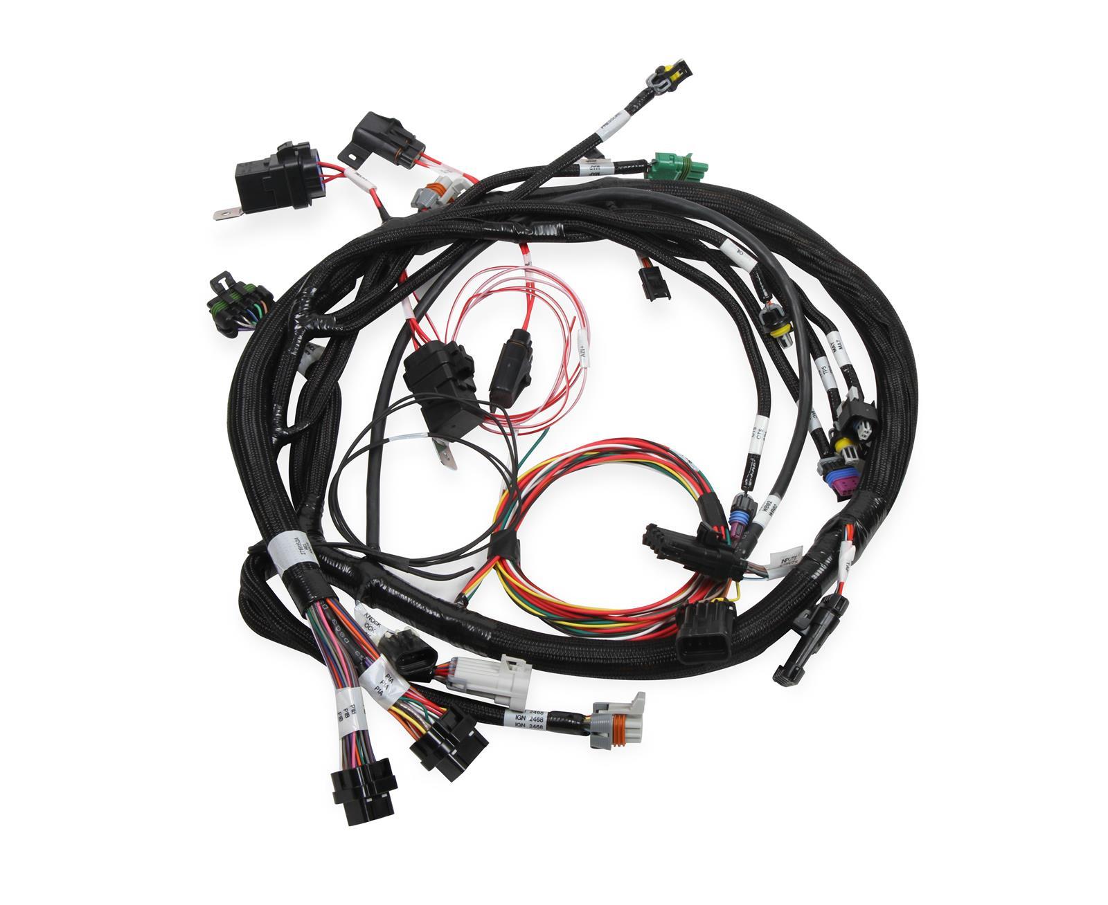 Holley 558 117 Main Harness Universal Mpfi W Cop