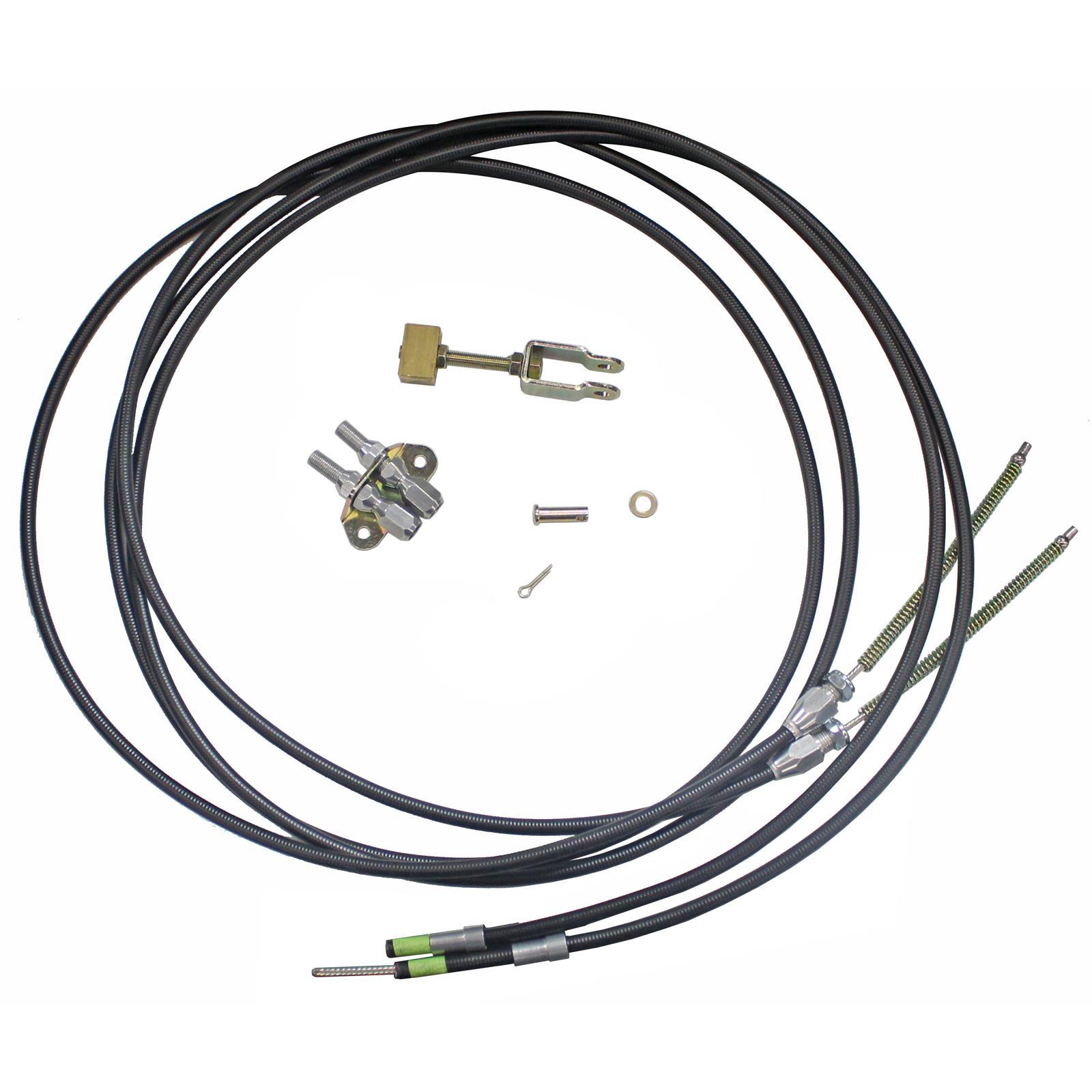 Lokar Floor Mount Emergency Brake Cable Ec 80fu108