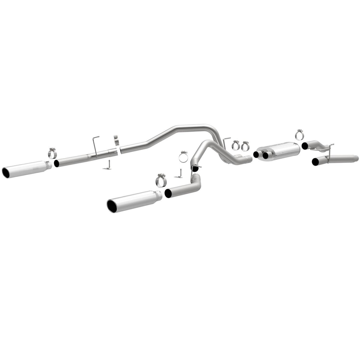 magnaflow mf series performance exhaust systems