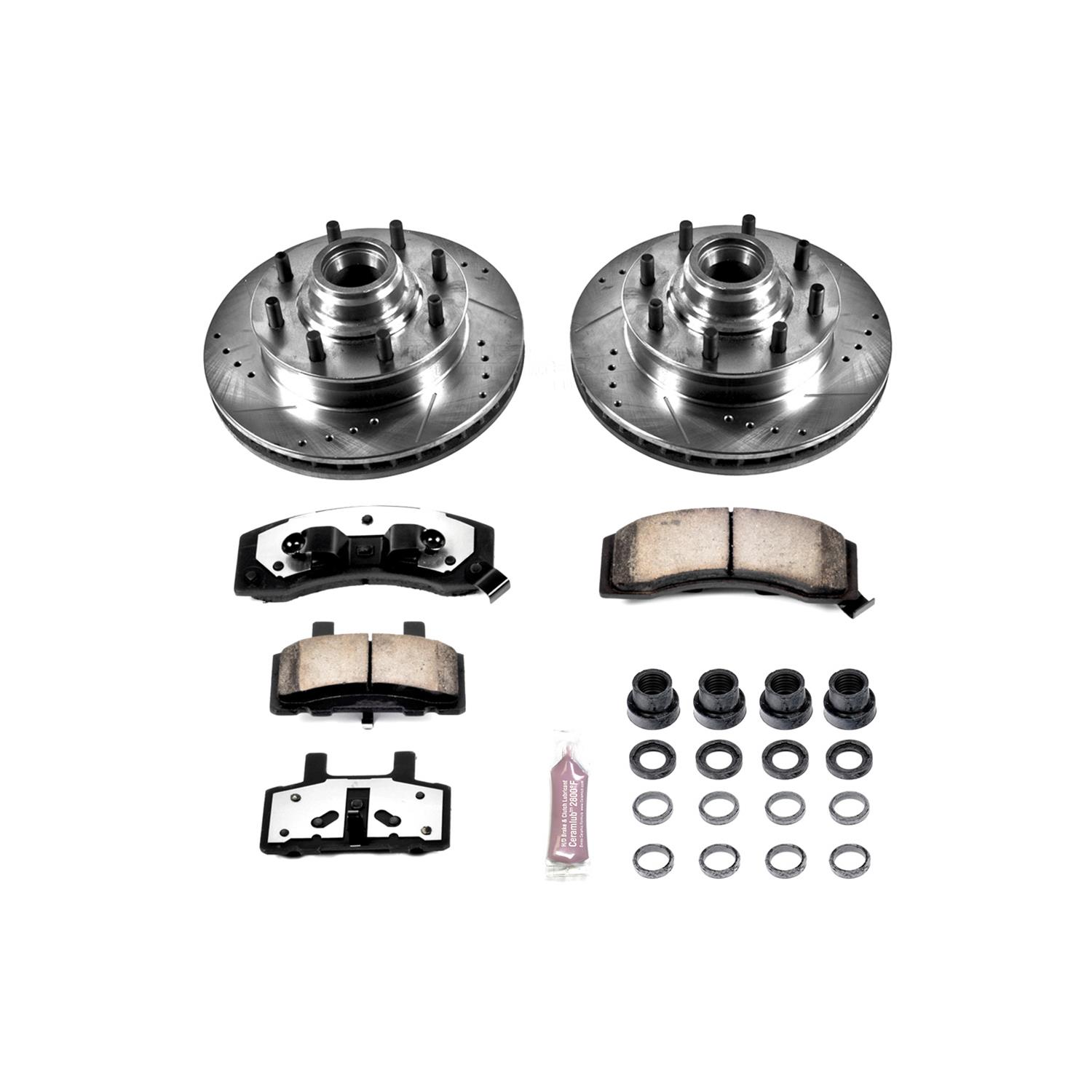 Power Stop Z36 Truck And Tow Performance Brake Kit K