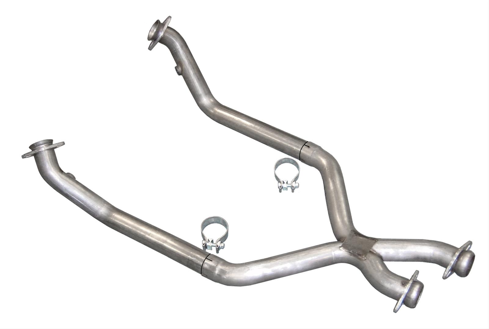 Pypes Crossover Pipe X Pipe Stainless 2 50 Dia Ford