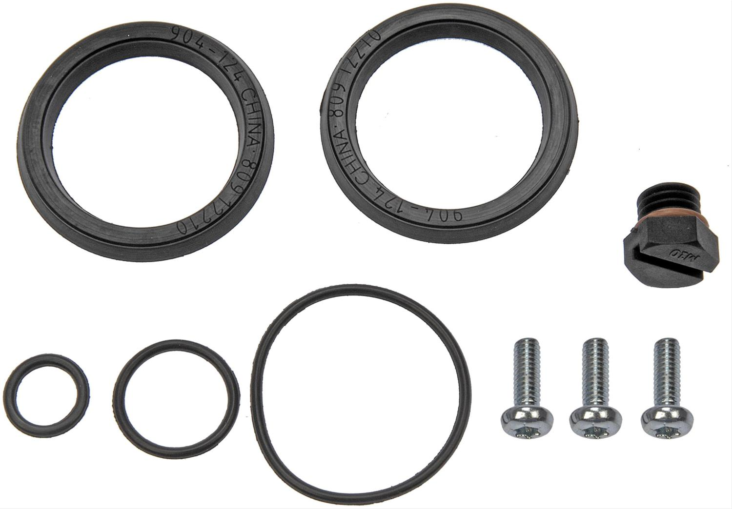 Dorman 904 124 Fuel Filter Primer Housing Seals Chevy