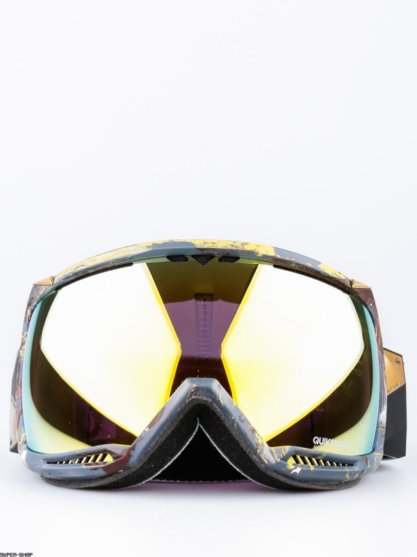 Quiksilver Goggles Hubble Travis Rice (fisher journal/pink ...