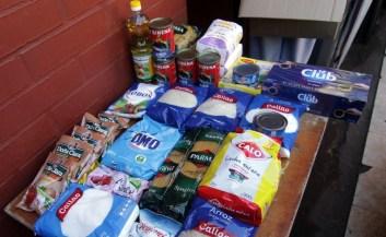 Cajas de alimentos: Qué productos contienen, cuándo y cómo se repartirán