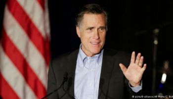 Republicano Mitt Romney critica duramente a Donald Trump