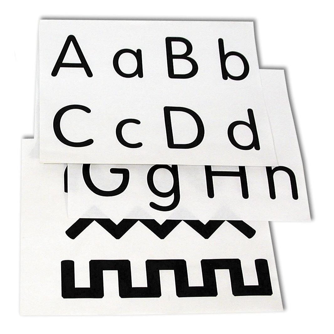 Alphabet Number Pattern Worksheets