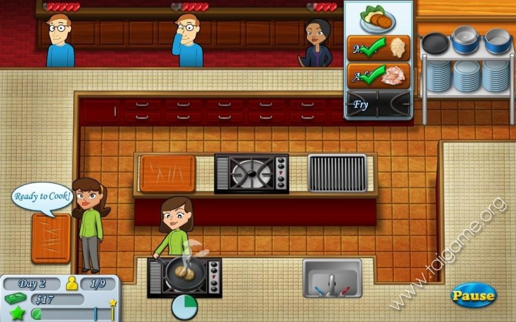 Kitchen Brigade Games Time Management