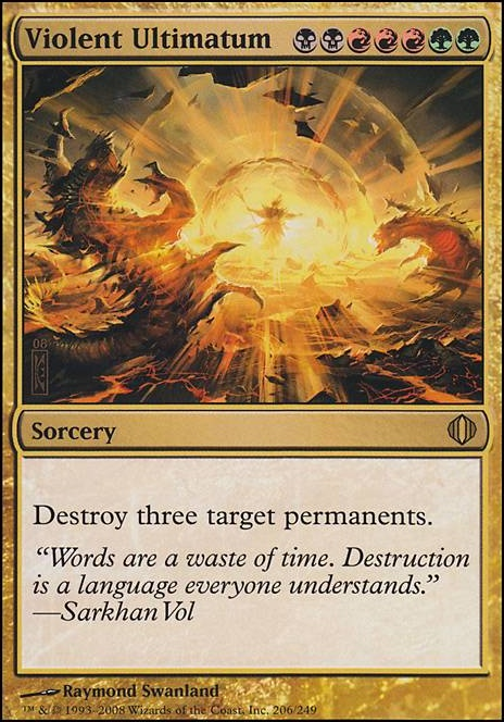 Violent Ultimatum ALA MTG Card