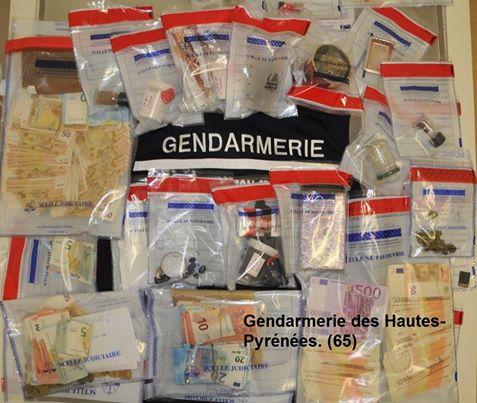 Tarbes. les gendarmes mettent fin à un vaste trafic de drogue à Cauterets