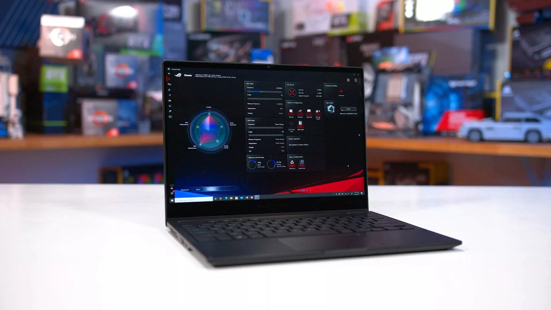 AMD Ryzen 9 5980HS Review