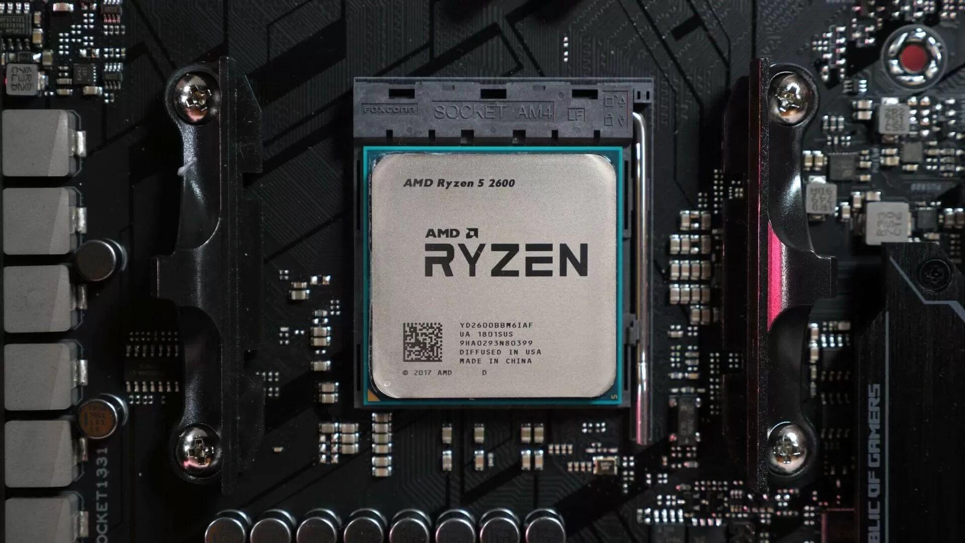 AMD Ryzen 5 2600 Reviews - TechSpot