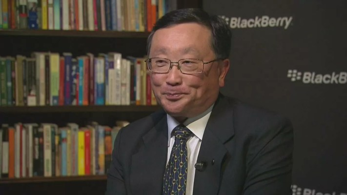 BlackBerry CEO John Chen gets five-year contract extension