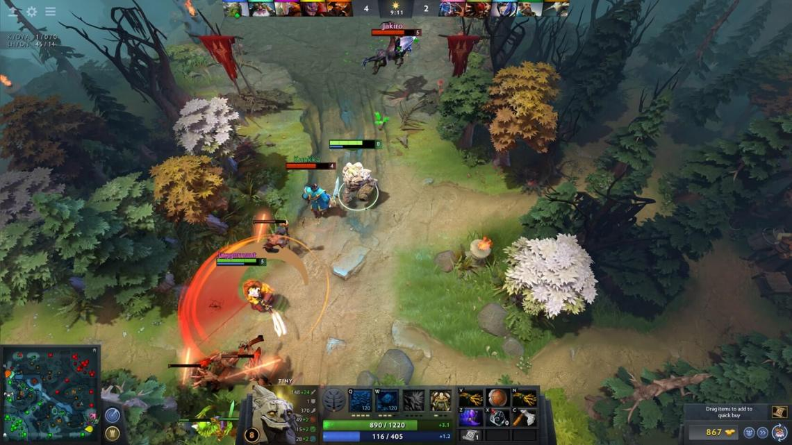 Dota 2 is dropping support for older operating systems and graphics APIs