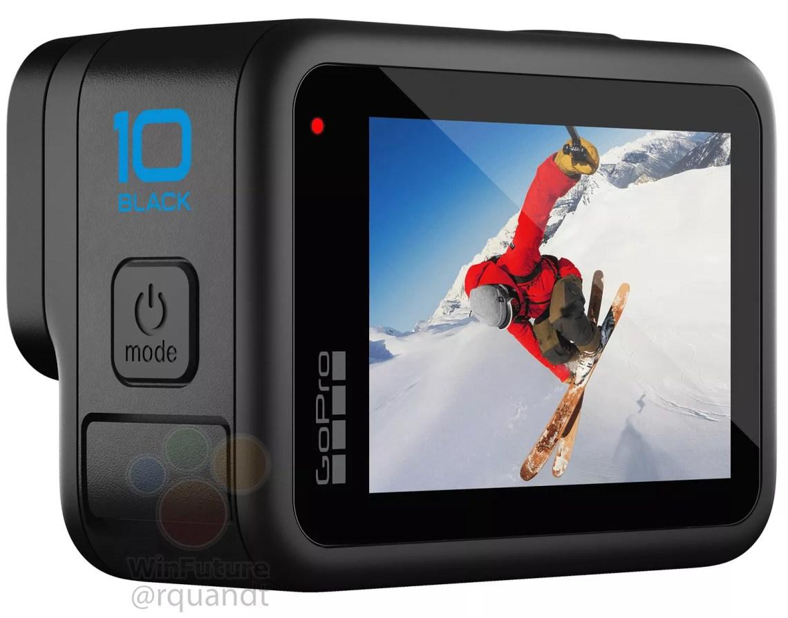 GoPro's next flagship camera, the GoPro Hero 10 Black, leaks online
