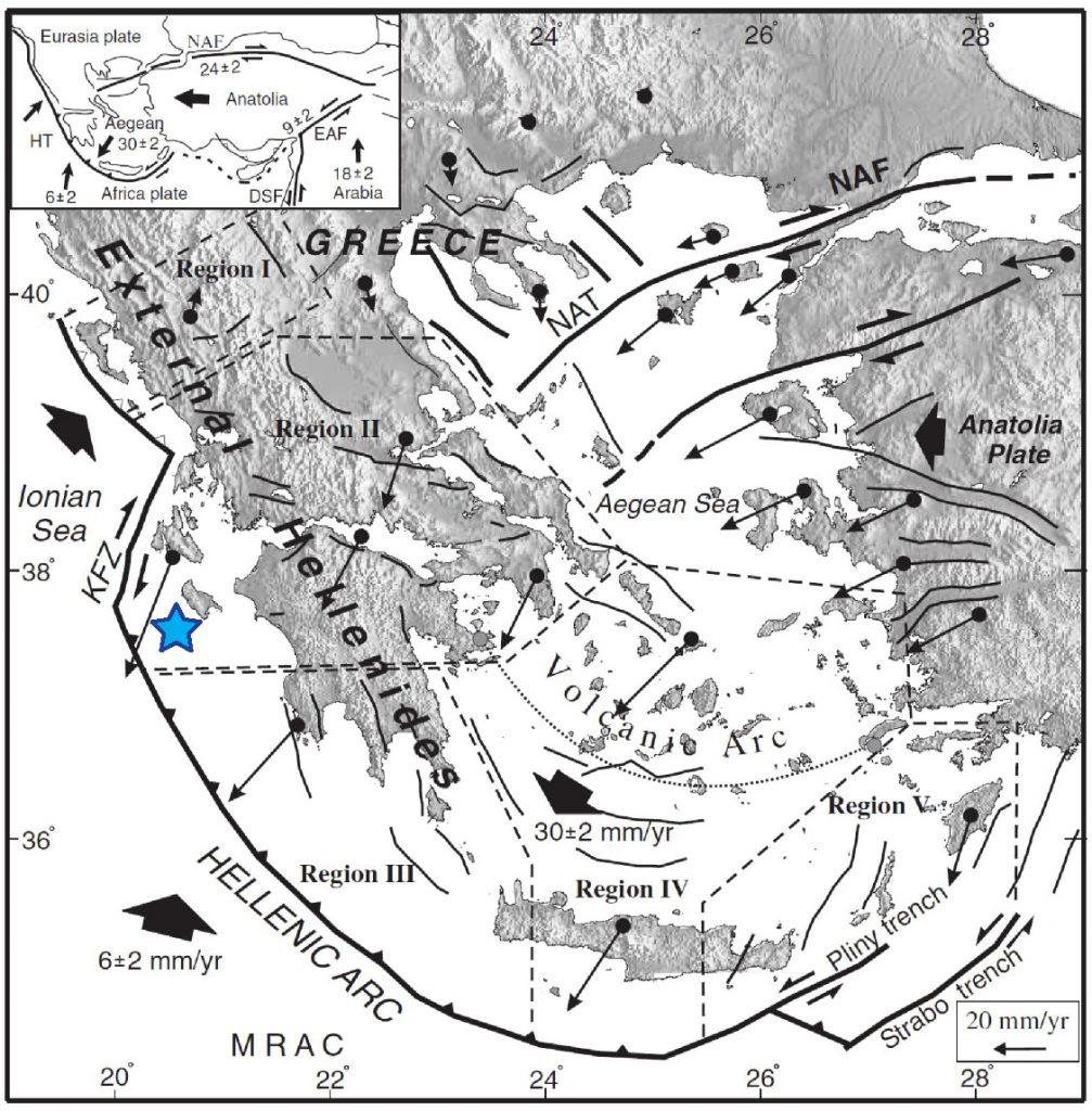 Greek Earthquake In A Region Of High Seismic Hazard Sciencesprings