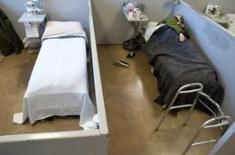 Geriatric prison ward