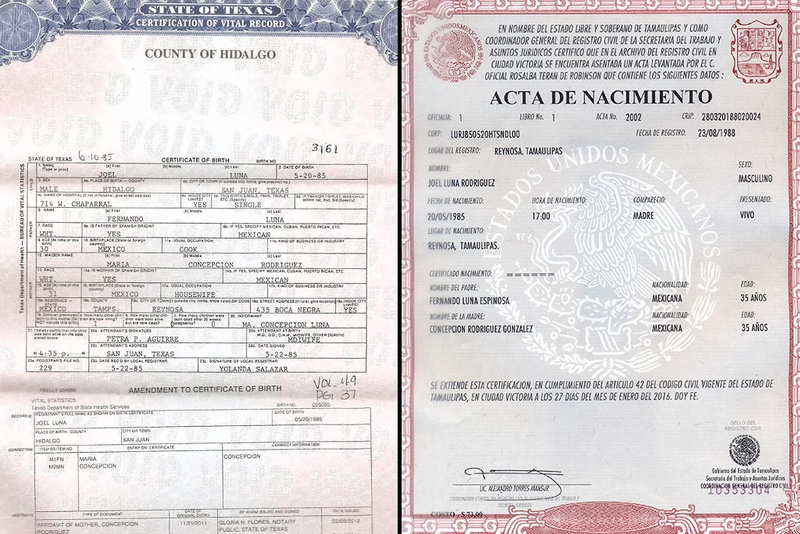 Indicted Border Patrol Agent Has Two Birth Certificates - Eagle Pass ...