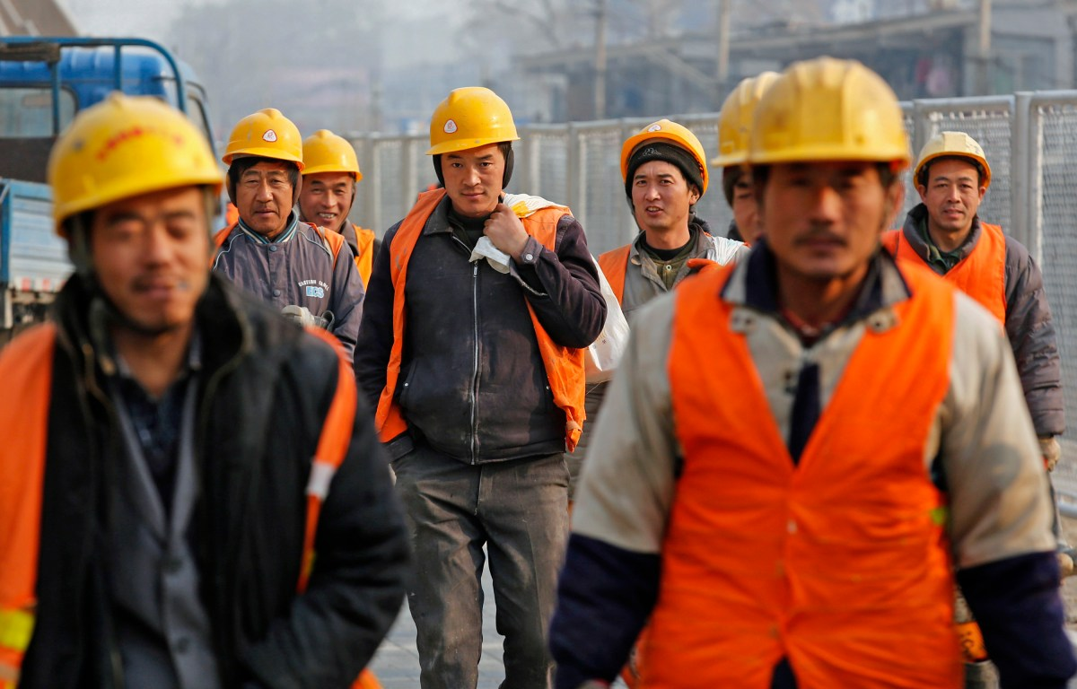Image result for chinese construction workers