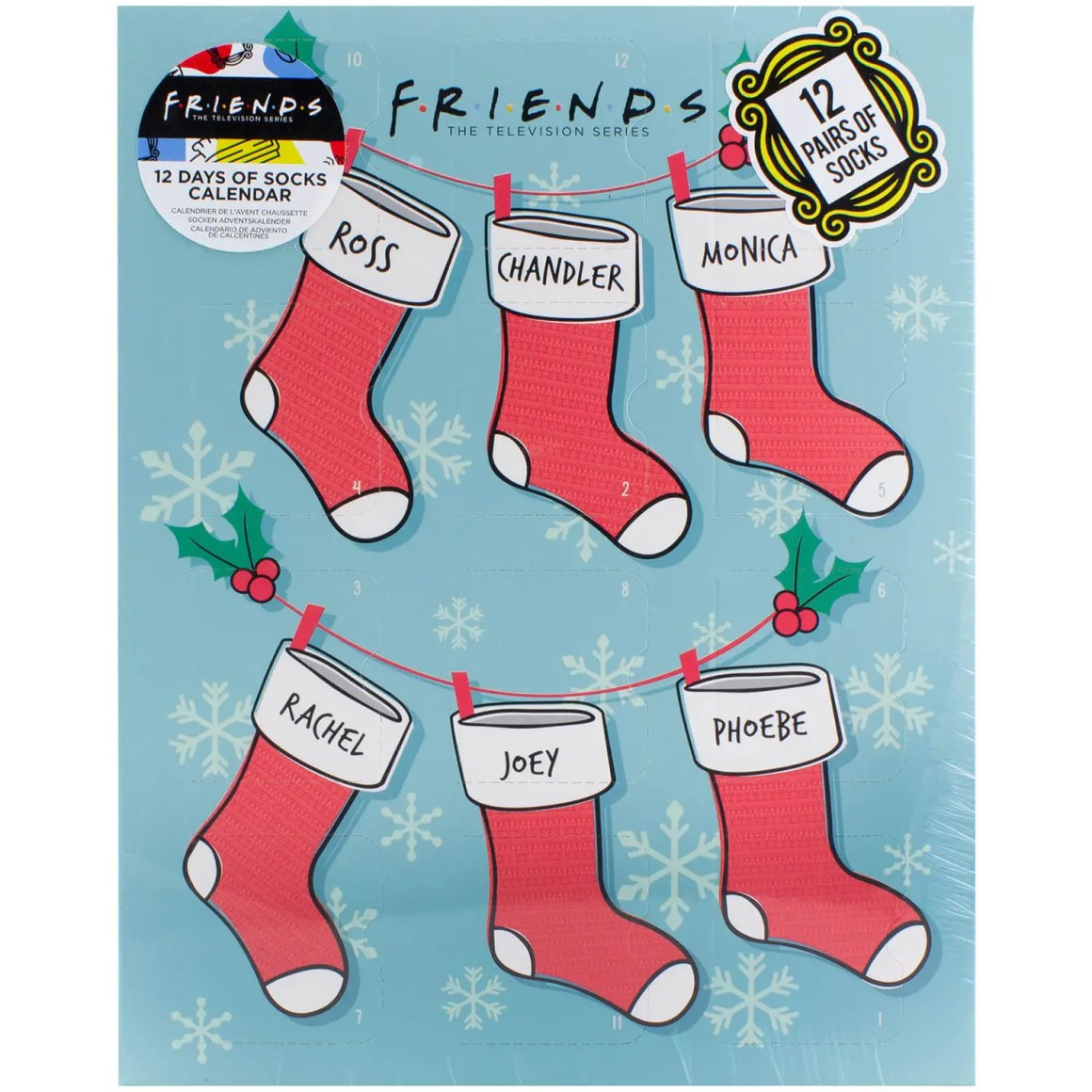 Where to buy the 2021 Friends Sock Advent Calendar