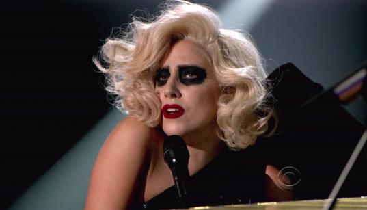 A Gaga Live Pic