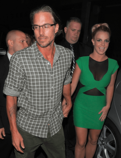 Britney Spears and Jason Trawick Pic