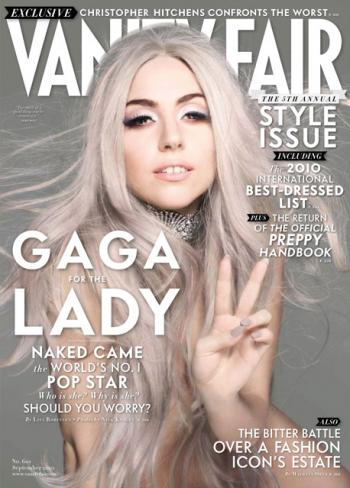 Lady Gaga n Vanity Fair